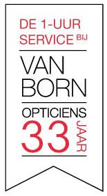Service banner Van Born Opticiens