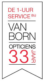 Service banner Van Born Opticiens