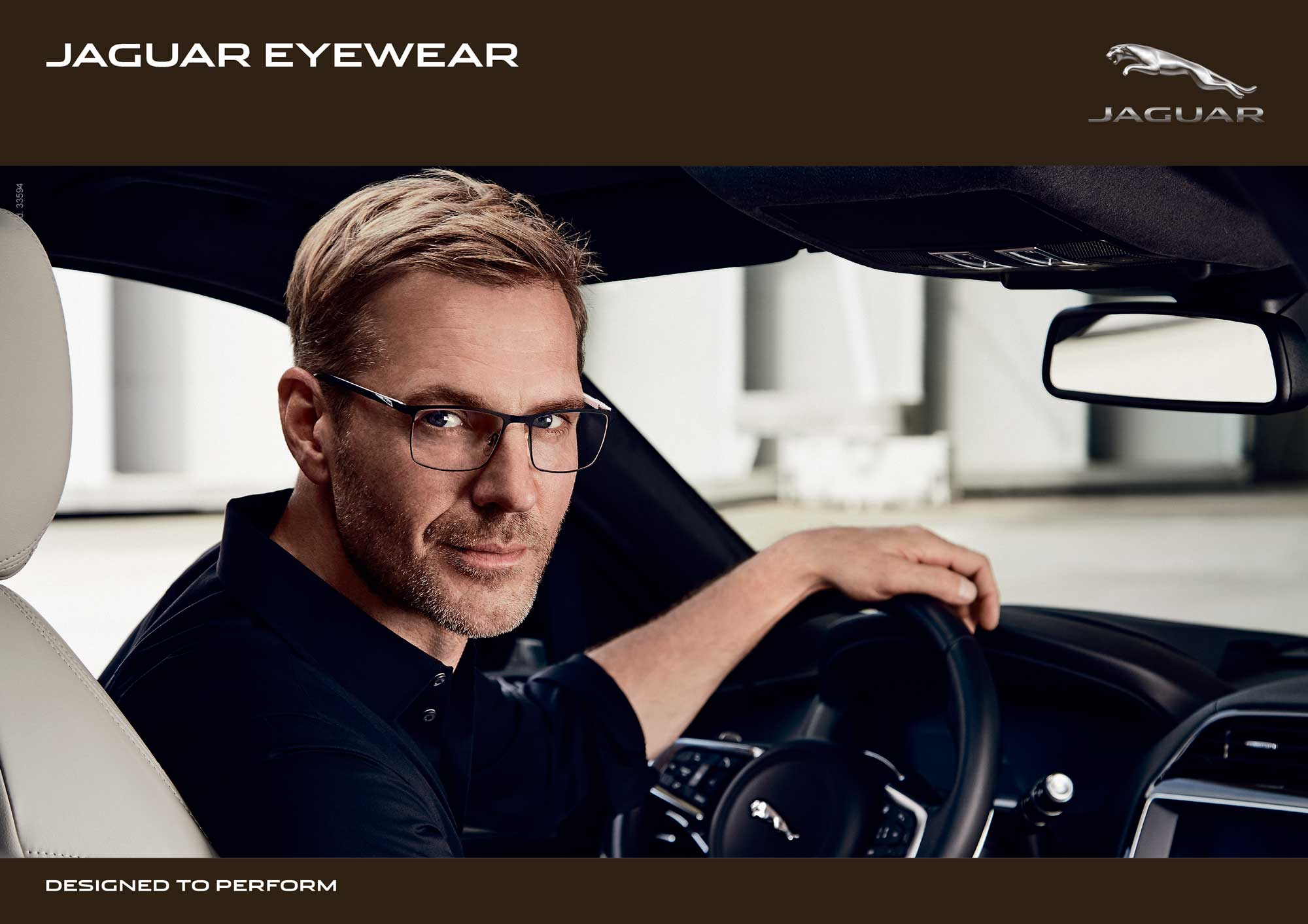Advertentie Jaguar brillen
