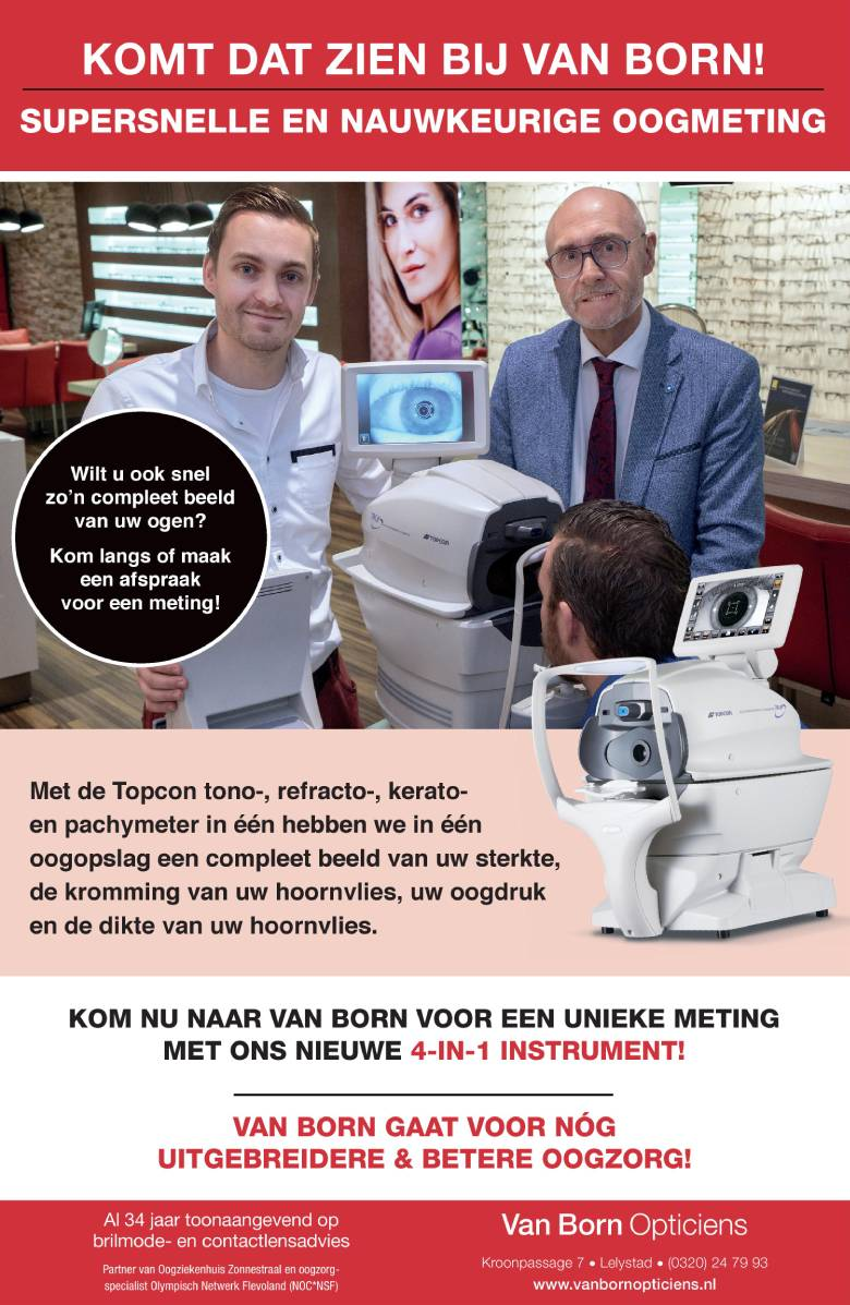 Topcon advertentie