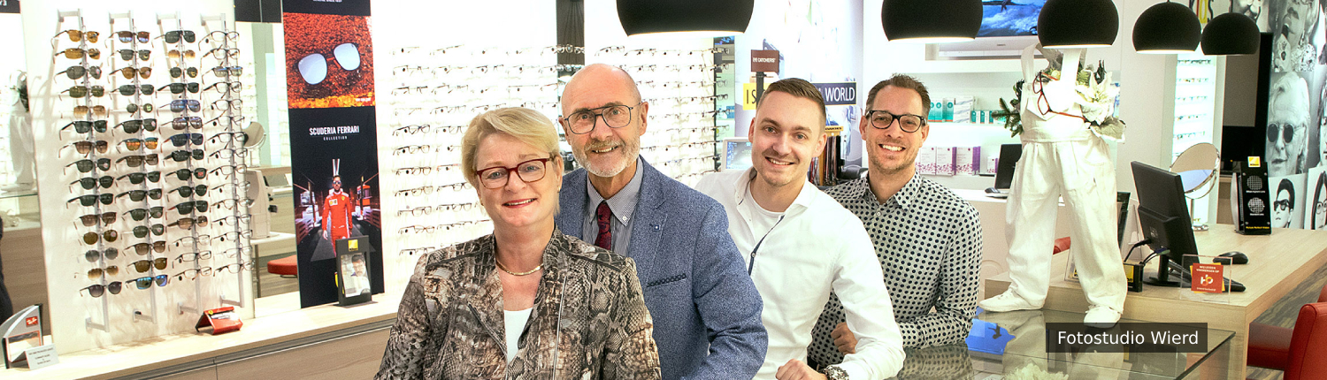 Van Born Opticiens team foto